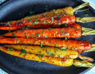 Maple-Miso Dijon Roasted Carrots 800 3188